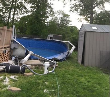 Pool Tear Down - You Sell Scrap